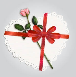 #1 Paper Lace Heart and Rose, Nirots, www.FreeDigitalPhotos.net