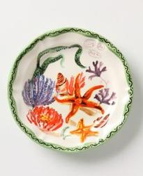 Anthropologie Ocean Glimpse plate, www.Anthropologie.com