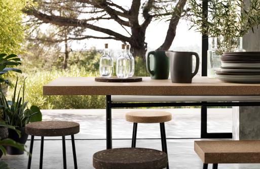 ikea pops the cork on a great idea for fall decoratebetter. Black Bedroom Furniture Sets. Home Design Ideas